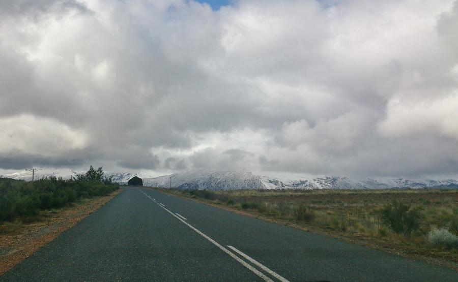 Ceres Snowfall Road Trip!
