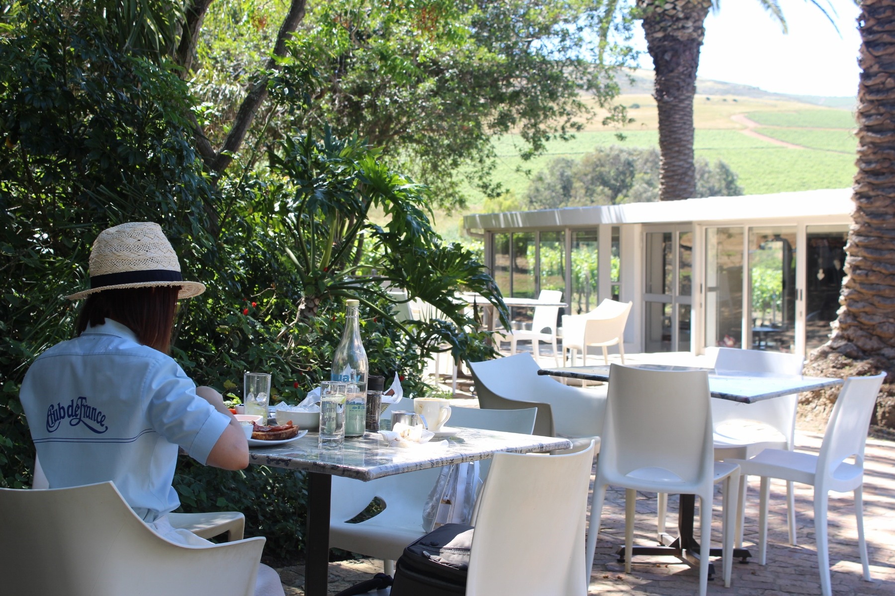 Cafe Ruby Durbanville wine valley