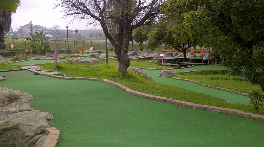 Putt putt Golf Village Tygervalley