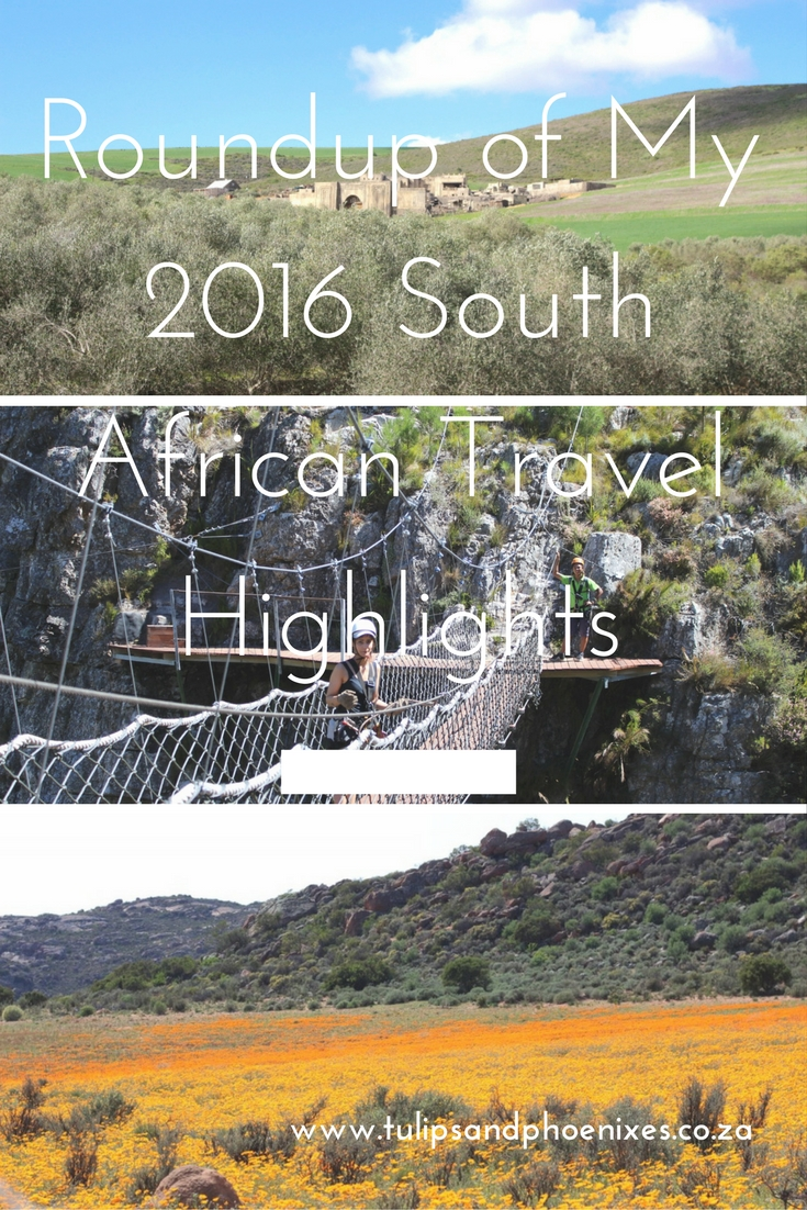 2016 south african travel highlights