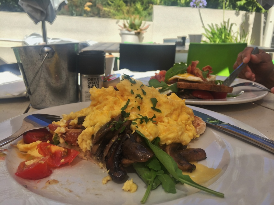 Breakfast in 10 minutes at Tables At Nitida