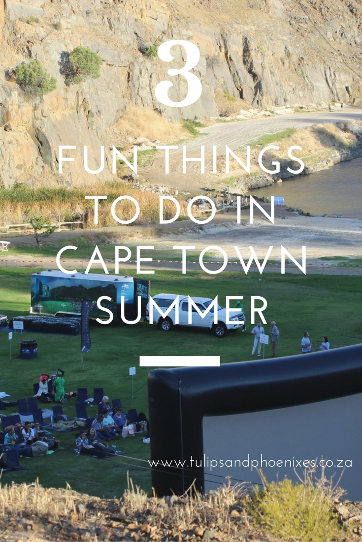 things to do cape town summer