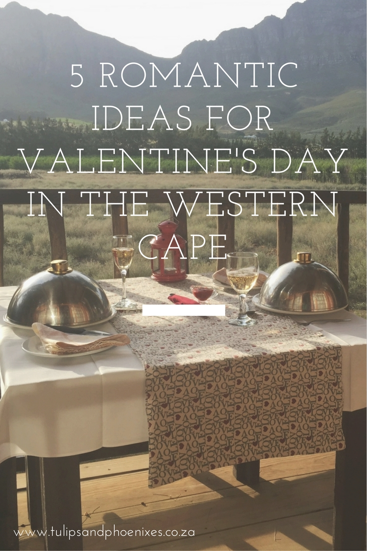 valentine's day in the western cape