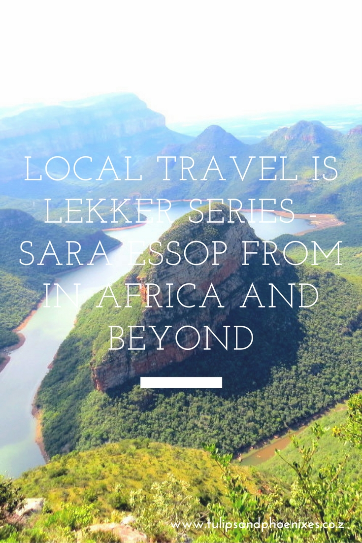 local travel is lekker