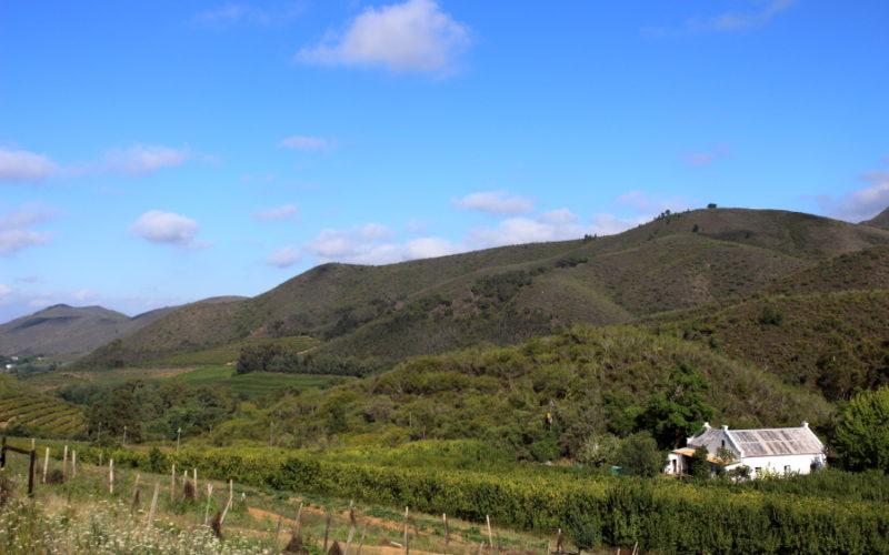 western cape farm stays