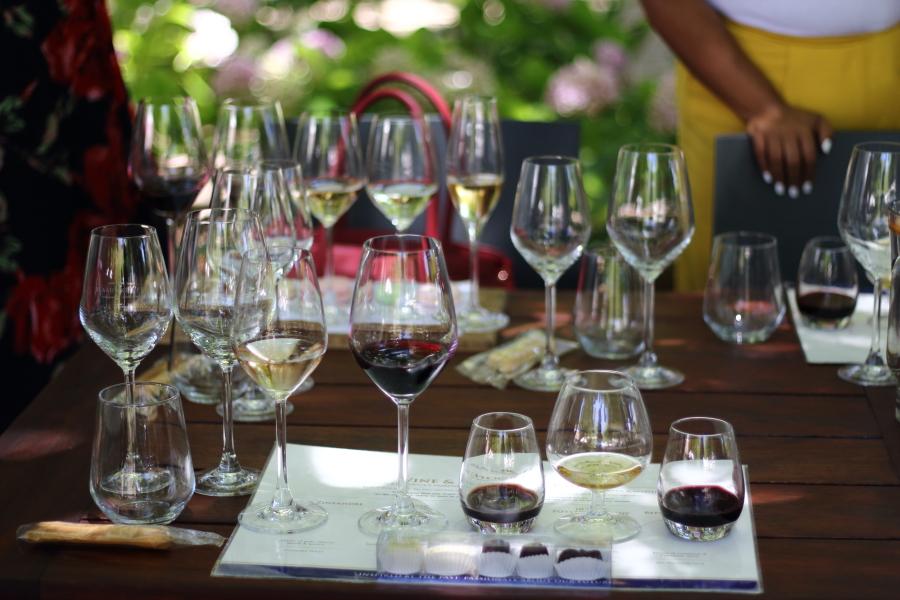 Blaauwklippen chocolate and wine pairing