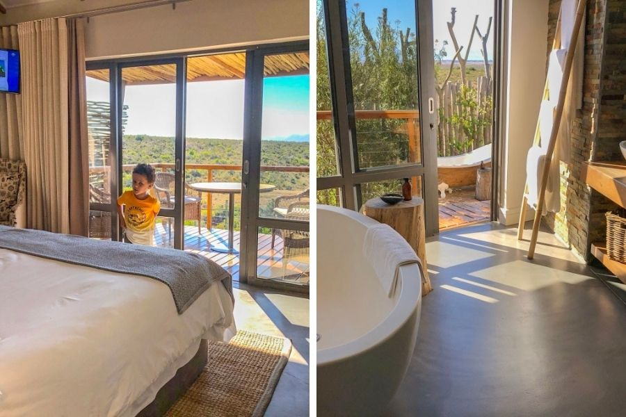 Garden Route Game Lodge luxury suite