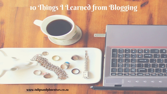 things I learned from blogging