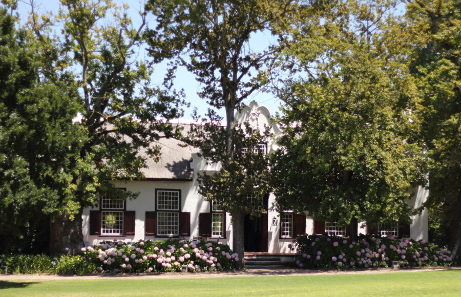 blaauwklippen manor house